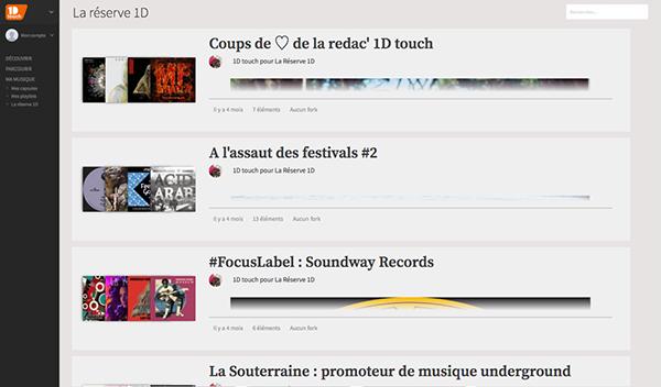 Screenshot La Réserve 1D