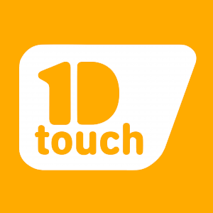 Logotype 1D touch Web contreforme HD
